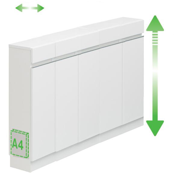 【オーダー】CSP-T150カウンター下収納 食器棚 カップボード すきま収納 小型コンパクト収納 すきまくんフジイ シンプルベーシックスタンダード キッチンキャビネット 日本製家具 送料無料