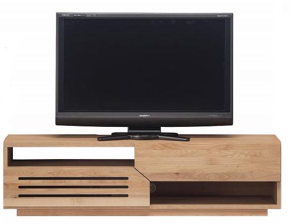 MONO150cm幅 ローボード シンプル TVボード テレビ台 ベーシック 送料無料 天然木アルダー材(おしゃれ ナチュラル 収納 完成品 棚 収納家具)送料込み