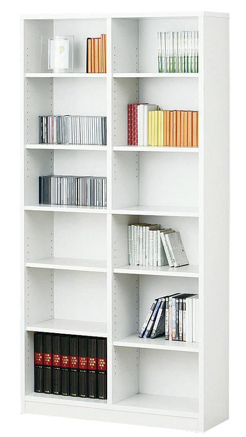 シェルフ9018 本棚収納シェルフ ホワイト カラーボックス 可動棚