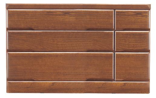 桐子403Bローチェスト 120幅 桐タンス 押入れ 和風たんす 収納家具 木製 洋服収納 和室箪笥ドロアー日本製家具 送料無料