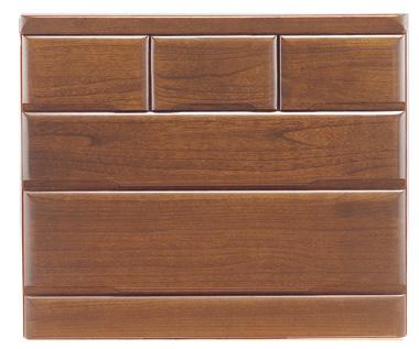桐子303Bローチェスト 90cm幅 桐タンス 押入れ 和風たんす 収納家具 木製 洋服収納 和室箪笥ドロアー日本製家具 送料無料