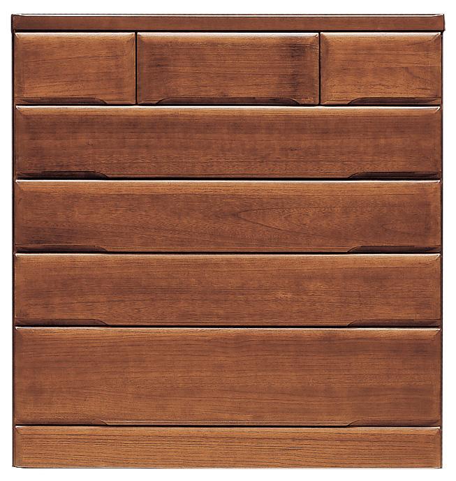 桐子35ミドルチェスト 105cm幅 桐タンス 押入れ 和風たんす 収納家具 木製 洋服収納 和室箪笥ドロアー日本製家具 送料無料