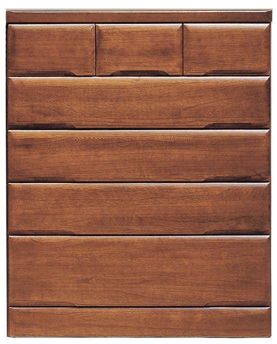 桐子30ミドルチェスト 90cm幅 桐タンス 押入れ 和風たんす 収納家具 木製 洋服収納 和室箪笥ドロアー日本製家具 送料無料