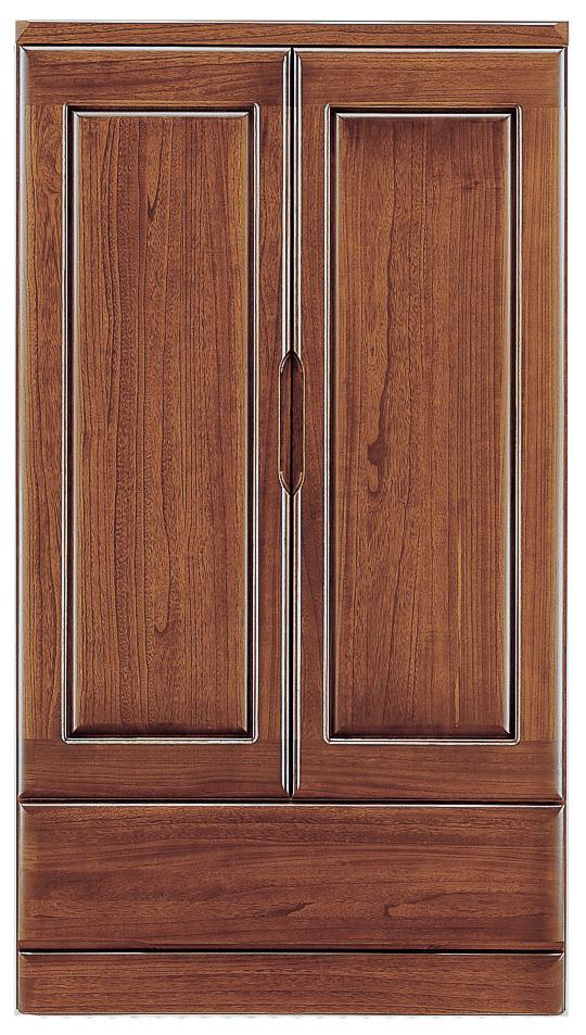 桐子30洋服ワードローブ ロータイプ 90cm幅 桐タンス 押入れ 和風たんす 収納家具 木製 洋服収納 和室箪笥ドロアー日本製家具 送料無料