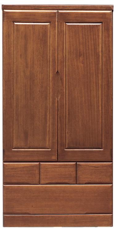 桐子30洋服ワードローブ・ブレザーたんす 90cm幅 桐タンス 押入れ 和風たんす 収納家具 木製 洋服収納 和室箪笥ドロアー日本製家具 送料無料