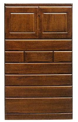 桐子35上開き整理たんす 105cm幅 桐タンス 押入れ 和風たんす 収納家具 木製 洋服収納 和室箪笥ドロアー日本製家具 送料無料