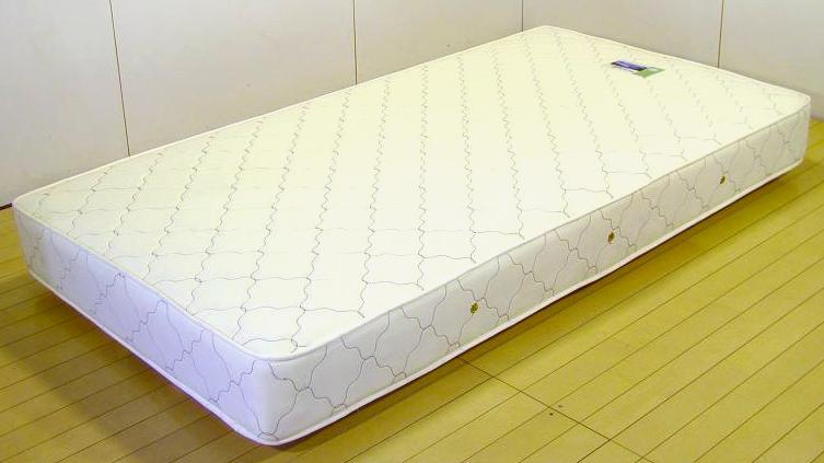 108378S国産ボンネルマットレス ハード仕上げ セミダブルサイズ 友澤ベッド 送料無料 日本製