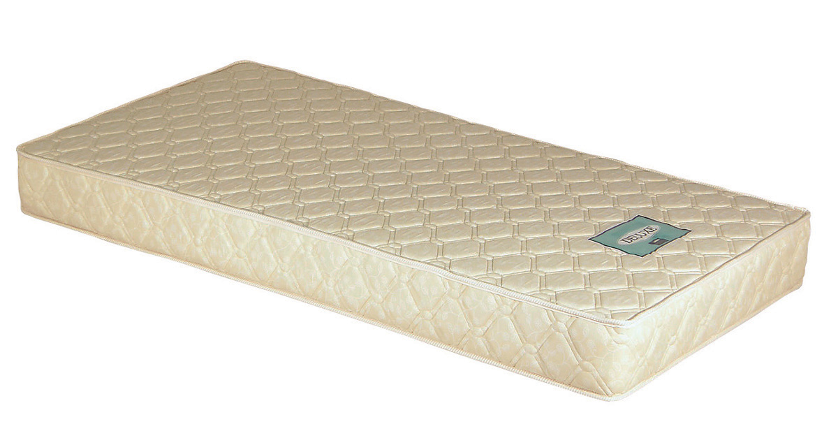 セブンベッド Mボンネルコイルマットレス 170クイーンサイズ プリント生地 固めでリーズナブル 日本製寝具 送料無料