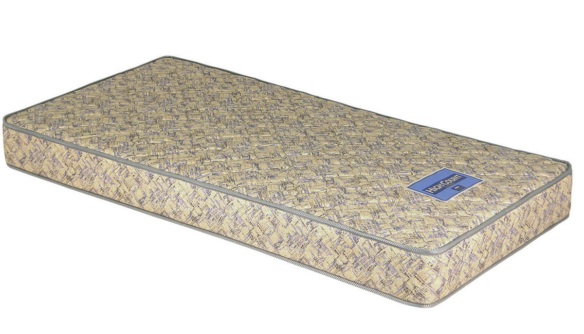 セブンベッド HCMボンネルハイカウントコイルマットレス シングル プリント生地 がっちりハード 日本製寝具 送料無料