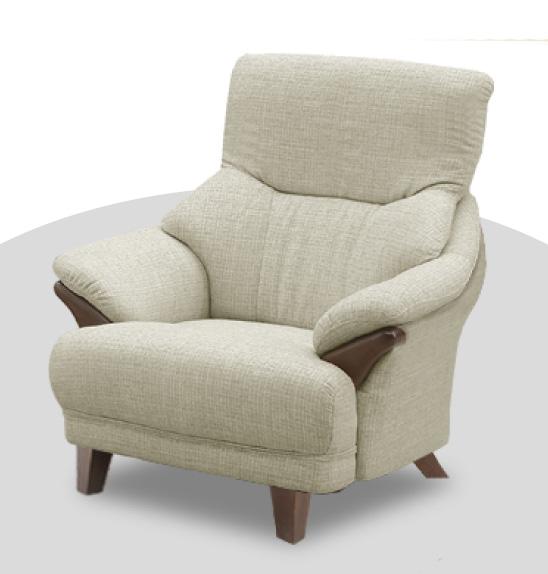 テノール パーソナルソファ 1Pソファ 一人掛け椅子 ハイバック 布 ファブリック バケットタイプ 送料無料