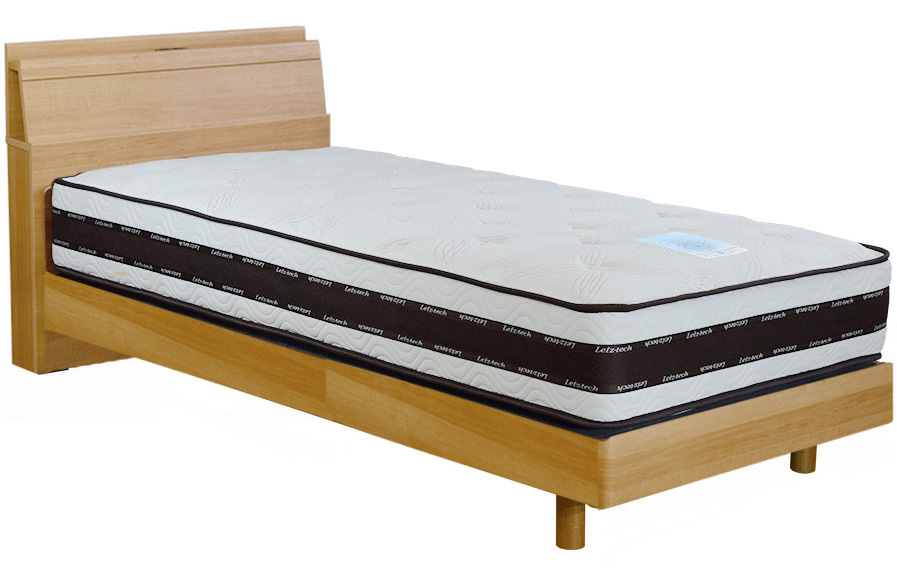 アンネルベッド ヴェガCT ダブル 棚付き レッグタイプ・脚付き チョイ棚 コンセント付き 機能的ベッド 送料無料 フレームのみ