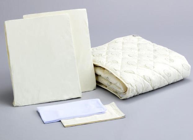 アンネルベッド 抗菌ベッドメーキング5点セット ダブル ベッドパッド&シーツ2枚 オススメ布団カバーセット マットレスカバー 送料無料