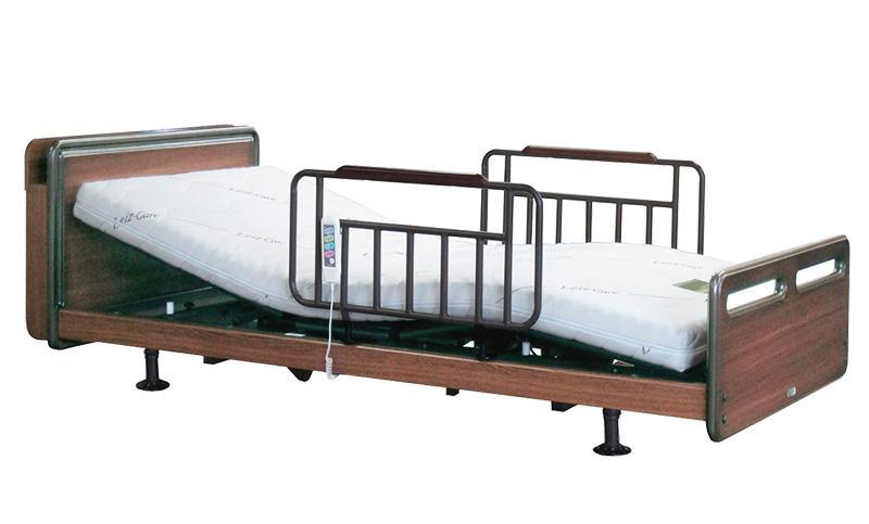アンネルベッド CYセラピアCT 3モーター キャビネット シングル 電動ベッド 電動リクライニング 手すり付き 介護 フラット 送料無料・設置込み 在宅ケア自立支援