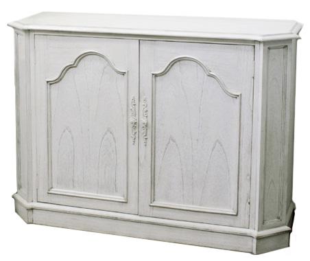 メゾン カウンターSB120 アンティーク風クラシックホワイト ヨーロッパ風 姫系家具かわいいロマンティクプリンセス 木製 東海家具