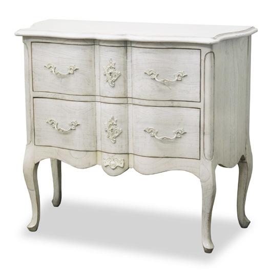 メゾン コンソールLC90 アンティーク風クラシックホワイト ヨーロッパ風 姫系家具かわいいロマンティクプリンセス 木製 東海家具