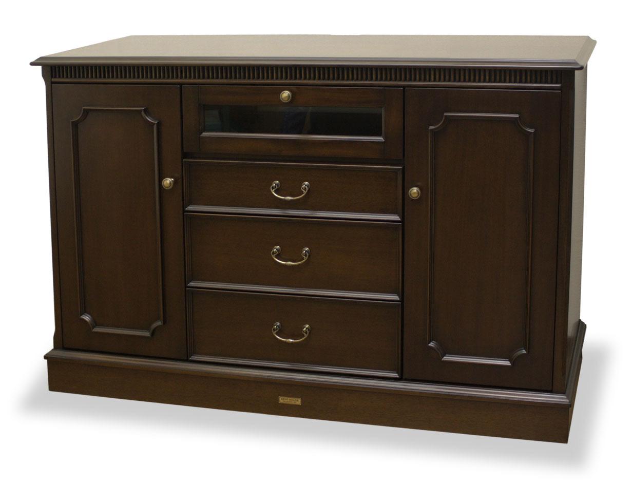 ケントハウス SB120 サイドボード アンティーク風クラシックダークブラウン ヨーロッパ風 姫系家具かわいいロマンティクプリンセス 木製 東海家具