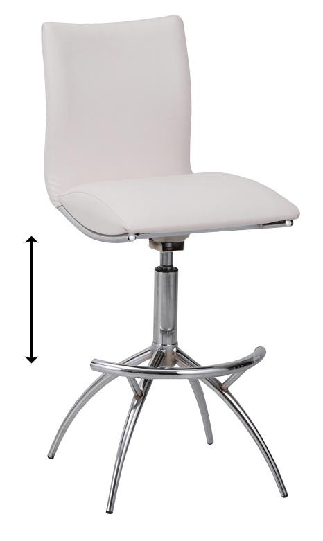 TCC-591 TCC-599 アリエノカウンターチェア ALIENO高さ調整式 バーチェア スチール回転式 1人肘掛け椅子 合成皮革 ガス圧シリンダー上下昇降 送料無料 家具 単品・バラ売り あずま工芸