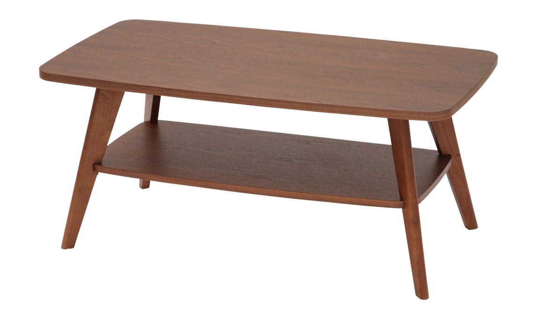 WLT-2130 WLT-2136 クレープ ウッドトップリビングテーブル90 センターテーブル ソファーテーブル 送料無料 家具 あずま工芸