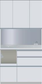 パモウナ/CIL-1000R/CIR-1000R食器棚/100キッチンボード/ダイニングボード/スタイリッシュ/ナチュラル/カップボード/送料無料/日本製