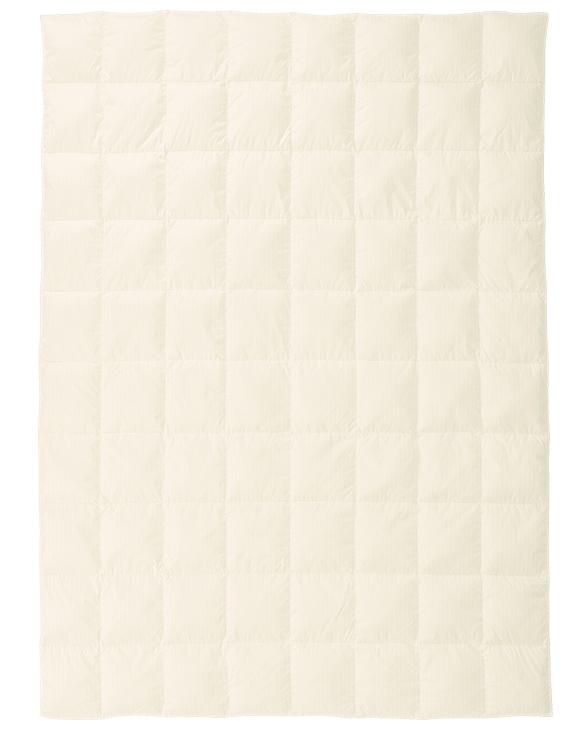 東京西川 SY8000 ウォッシャブル羽毛肌掛け布団 羽毛布団 0.3kg軽量生地 スリープコンフィ シングル KE08905002 1枚もの ホワイトダックダウン コンパクト 送料無料