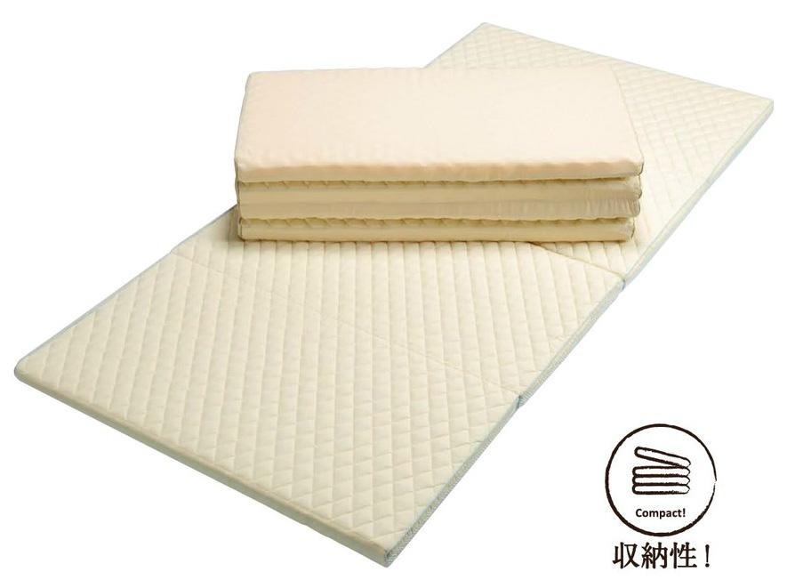 東京西川 SY9510 4つ折り敷きふとん スリープコンフィ ダブル KNN2057100・KCN2057101 1枚もの コンパクト 日本製寝具 送料無料