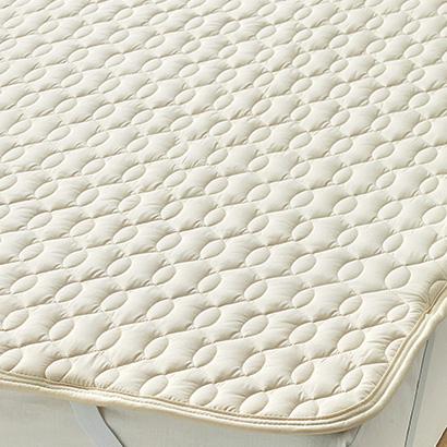 西川 WBP6000 羊毛ベッドパッド ダブル ウール 布団カバー 寝装品 送料無料