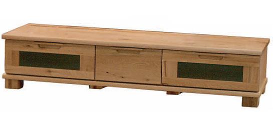 D-oak ディーオークシリーズ02503 149サイズ ロータイプTVテレビボード リビングボード テレビ台 ナチュラル ナラ楢 起立木工 日本製 送料無料