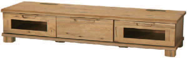 D-oak/ディーオークシリーズ02504/165サイズ/ロータイプTVテレビボード/リビングボード/テレビ台/ナチュラル/ナラ楢/起立木工/日本製/送料無料
