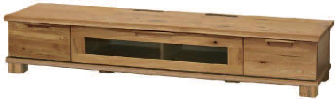 D-oak/ディーオークシリーズ02505/190サイズ/ロータイプTVテレビボード/リビングボード/テレビ台/ナチュラル/ナラ楢/起立木工/日本製/送料無料