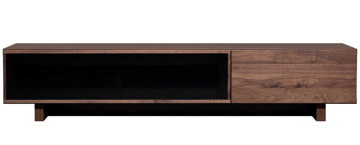 レグナテック クレスポTV160 リビングボード テレビボード TV台 テレビ台 ガラスシンプルナチュラル ブラックガラウス ウォールナット 木製 LEGNATEC クラッセ CLASSE Grosse 日本製家具
