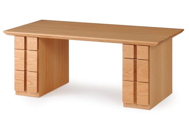 レグナテック ピラール100 フロアテーブル センターテーブル ソファー机 小引き出し 収納 シンプルナチュラル ウォールナット・ホワイトオーク 木製 送料無料 日本製