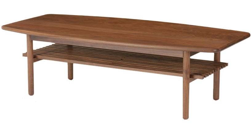 レグナテック ステラ120 コーヒーテーブル リビングテーブル センターテーブル ソファー机 棚付き 収納 シンプルナチュラル ウォールナット・オーク 木製 LEGNATEC クラッセ CLASSE Grosse 日本製家具