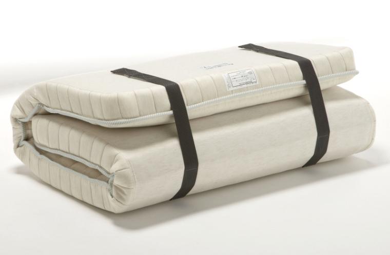 フランスベッド ラクネスーパー マットレス スモールシングルSS 国産 折りたたみ 折曲げれるスプリング 臨時ベッド コンパクト 和室敷布団・薄型マットや二段ベッド用としても