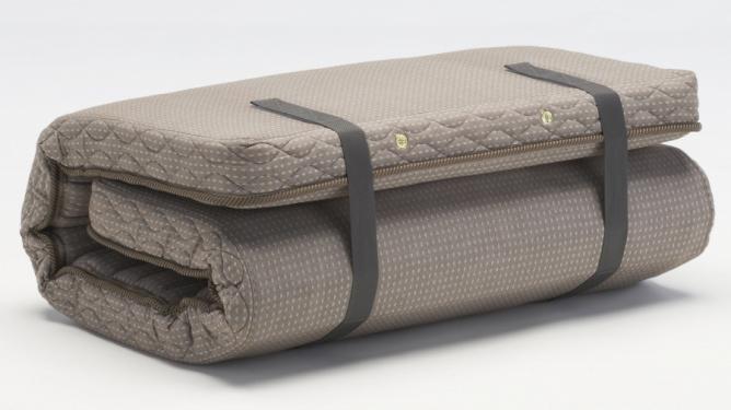 フランスベッド ラクネスーパープレミアム マットレス シングルS ソフトジャガード織 国産 折りたたみ 折曲げれるスプリング 臨時ベッド コンパクト 和室敷布団・薄型マットや二段ベッド用としても