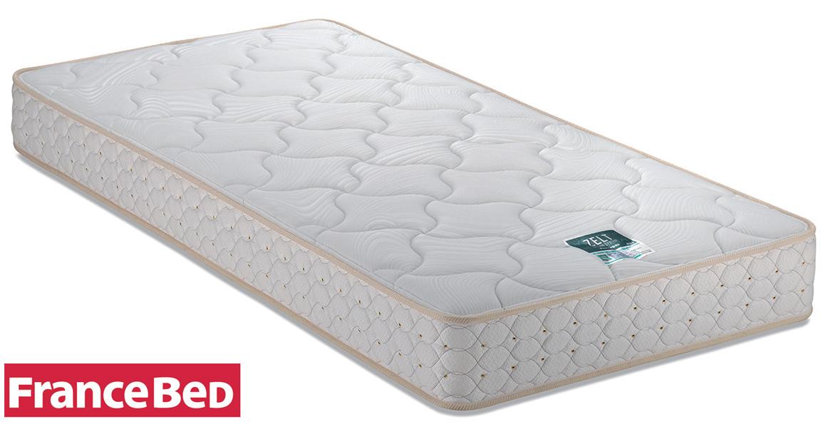 フランスベッド ZT-030 セミダブル ゼルトスプリングマットレス 高密度連続スプリング 日本製寝具 送料無料 ミディアム 普通