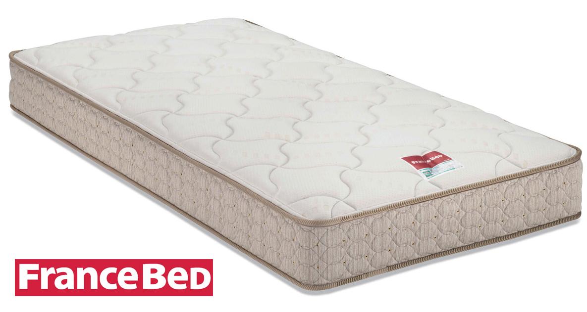 フランスベッドMH-050 ワイドダブル マルチラスハードマットレス 高密度連続スプリング 羊毛入り ウール 日本製寝具 送料無料