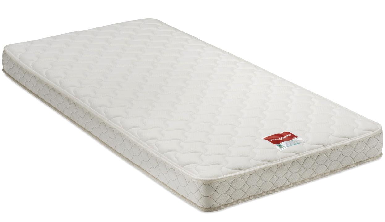 フランスベッド MT-030マルチハードスプリングマットレス ダブル 薄型スリム ミディアム硬さ 日本製寝具 送料無料