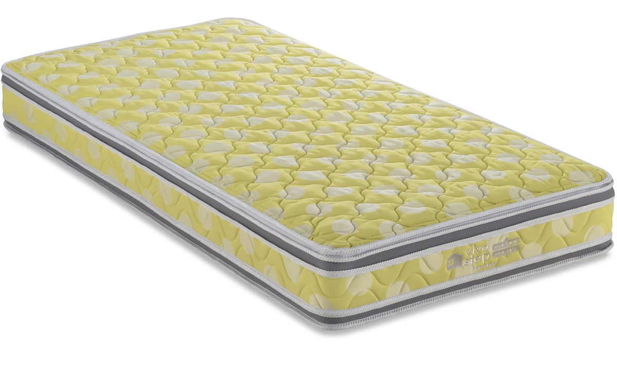 フランスベッド vivostep VI-100Wビボステップ シングルマットレス 取り外し洗い可能 高密度連続スプリング 日本製 送料無料