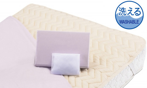グッドスリーププラス バイオ三点パック ワイドダブルロング フランスベッド ベッドインバッグB 送料無料 送料込み 綿パッド&シーツ2枚セット 布団カバーセット マットレスカバー寝具 4色対応 ベーシック スタンダード