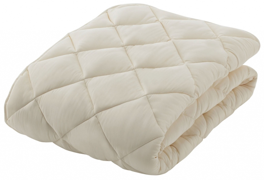 フランスベッド ソロテックスベッドパッド クイーン170サイズ ふわふわ柔らかソフト わた布団カバー 寝装品 送料無料