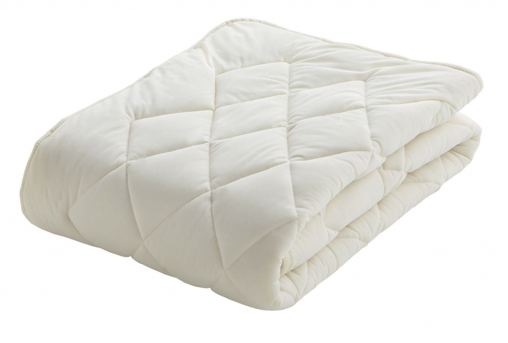 フランスベッド クランフォレスト英国高級羊毛ベッドパッド セミダブル 布団カバー 寝装品 送料無料