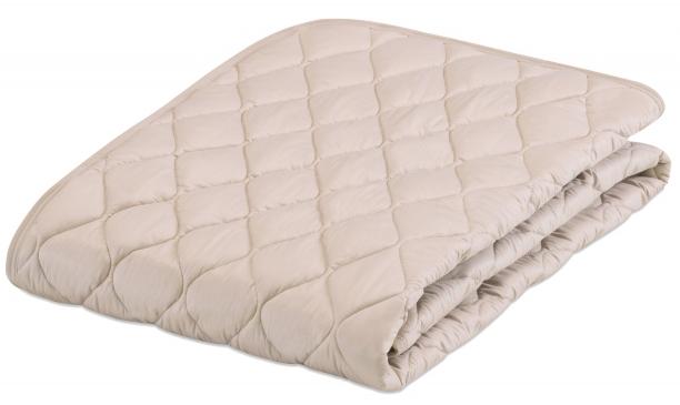 フランスベッド グッドスリーププラス羊毛ベッドパッド キング 布団カバー 英国産ウール 寝装品 送料無料