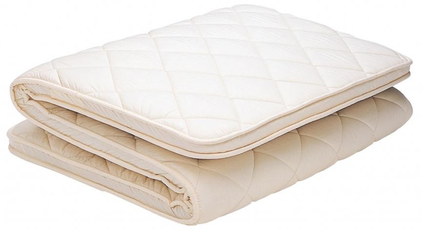 フランスベッド 羊毛混固わた下敷布団 シングルサイズ ウール 日本製 送料無料