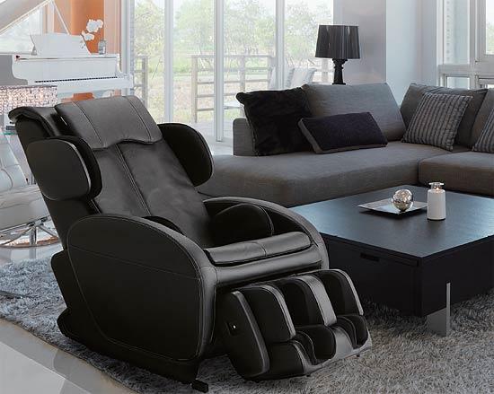 フランスベッドくつろぎ貴賓席 スタイリッシュマッサージチェア 本革 1Pソファ パーソナルチェア リクライニング椅子 リハテック