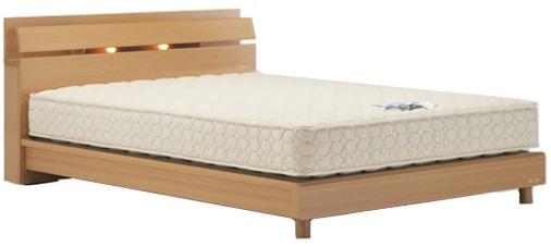 フランスベッド フレームのみ ネクストランディ904C ワイドダブル レッグタイプ ワイドダブル・脚付き 小棚・照明付き 木製 日本製家具 送料無料 ナチュラル ダーク 送料無料 フレームのみ, エクサ:753d8a3d --- novoinst.ro