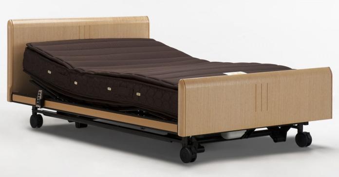 グランマックスGX-02F 3モーター シングル フランスベッド 天然木高級電動ベッド 電動リクライニング フラットシンプル 日本製 介護用としても 送料無料・設置込み
