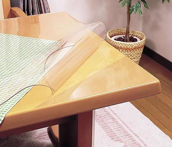 テーブルマット1000×10m巻(透明・2mmタイプ)テーブルクロス PSマット ビニール デスクマット 送料無料