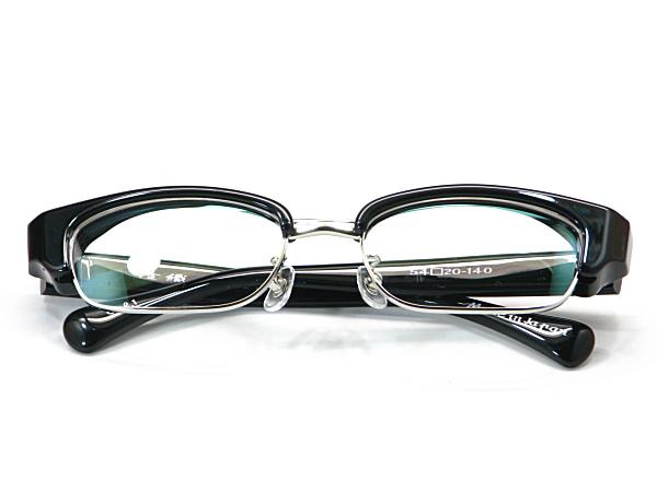 こだわり日本製メガネ【TO-011-C1】度付きレンズ付【送料無料】12mmの重厚感ありのセルブロー