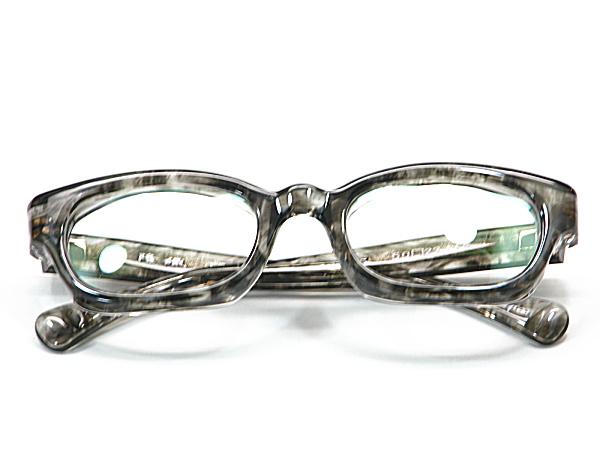 こだわり日本製メガネ【TO-012-C3】度付きレンズ付【送料無料】隆織・重厚感ある厚み