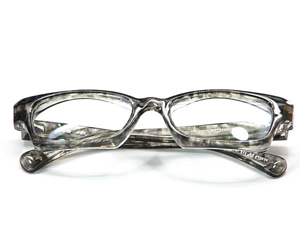 こだわり日本製メガネ【TO-013-C3】度付きレンズ付【送料無料】隆織・重厚感ある厚み